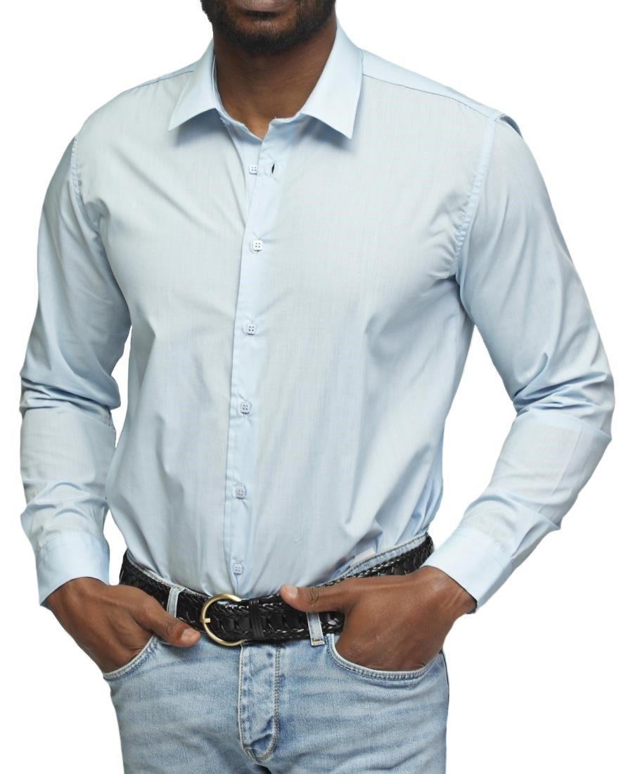 Slim Fit Shirt - Blue