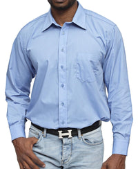 Modern Fit Shirt - Blue