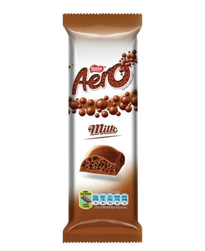 Aero Slab Milk 85g - Brown