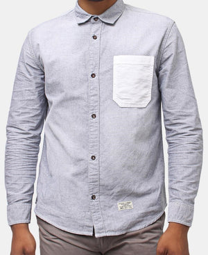 Denim Shirt - Grey