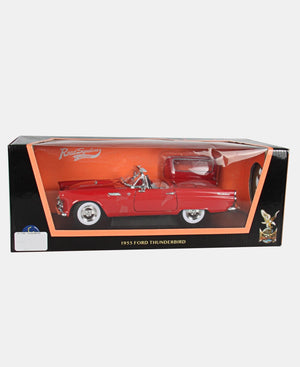 1:18 Die Cast Ford Thunderbird 1955 - Red