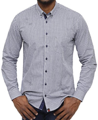 Modern Fit Shirt - Navy