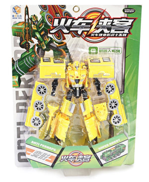 Transforming Robot - Yellow