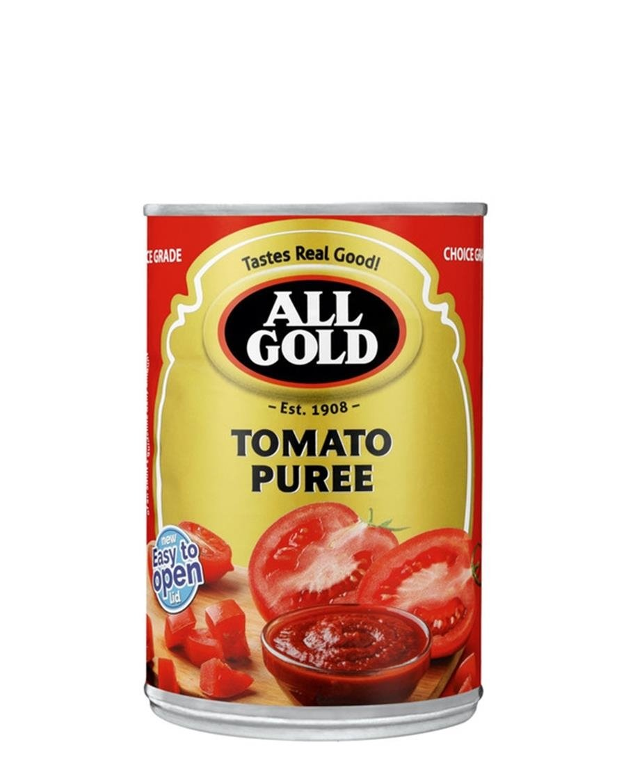 All Gold Tomato Puree 410g - Red