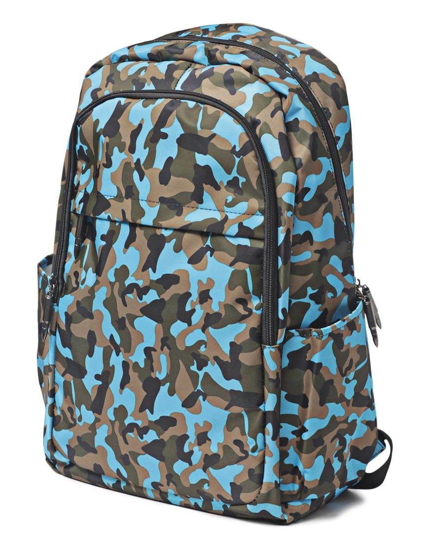 Camo Backpack - Blue