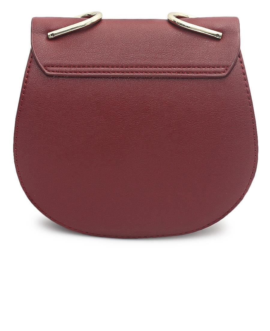 Crossbody Bag - Burgundy
