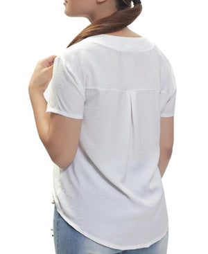 Short Sleeve Shirt - White