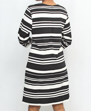 Casual Shift Dress - Black
