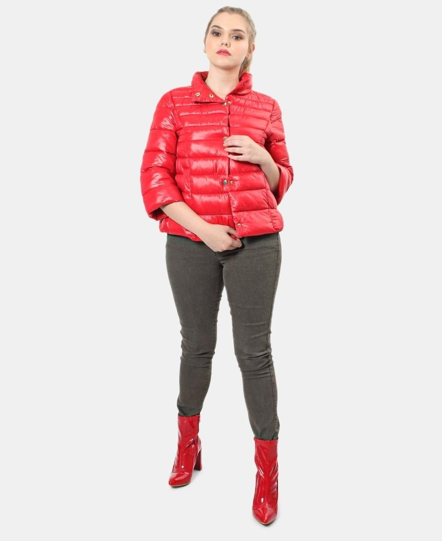 3/4 Sleeve Jacket - Red
