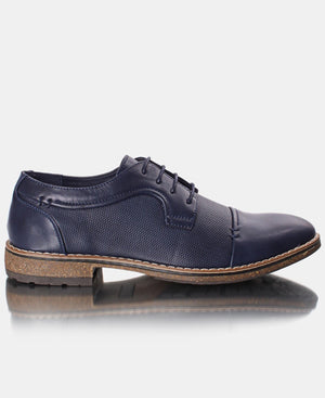 Men's Smart Lace Up - Navy