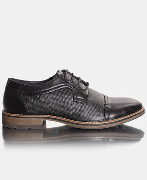Men's Smart Lace up - Black