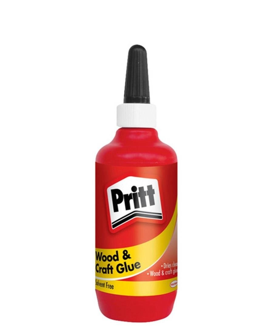 Pritt Wood And Craft Glue - Red