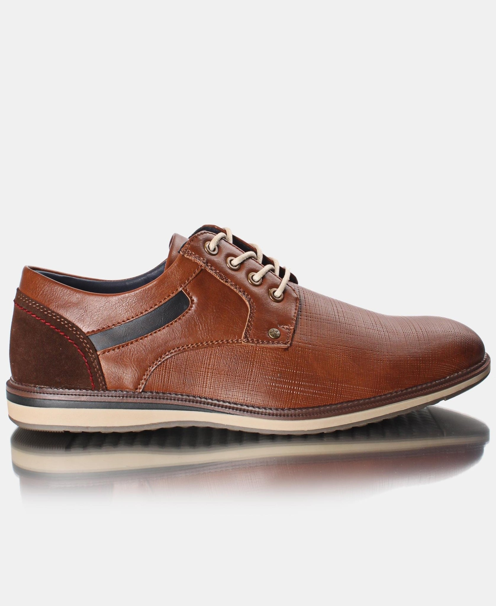 Men's Lace up Casuals - Tan