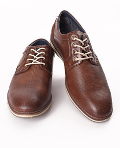 Men's Lace up Casuals - Brown