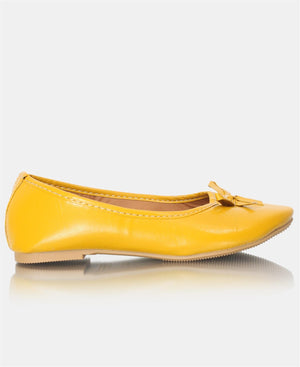 Girls Pumps - Mustard