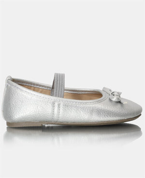 Girls Pumps - Silver