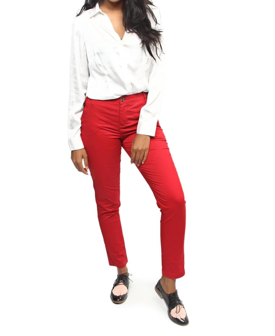 Chino Pants - Red
