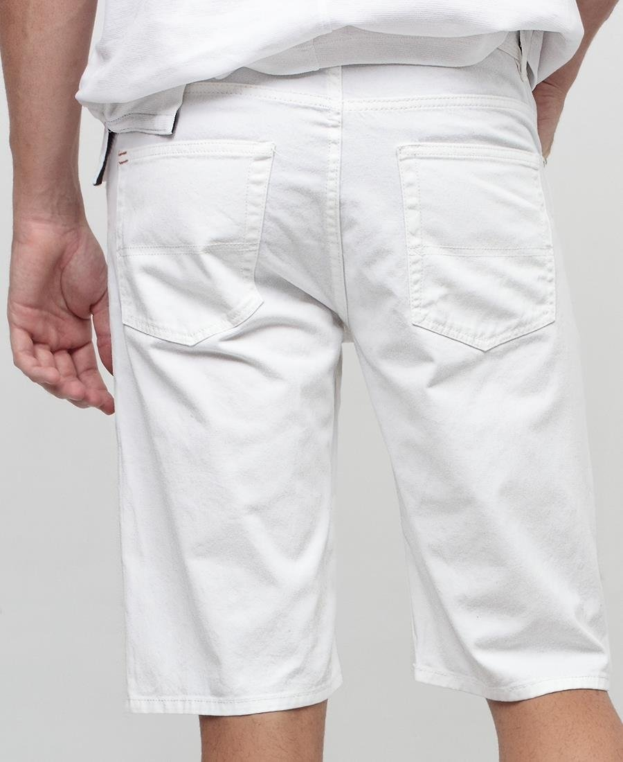 Men's Shorts - White