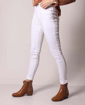 Skinny Stretch Jeans - White