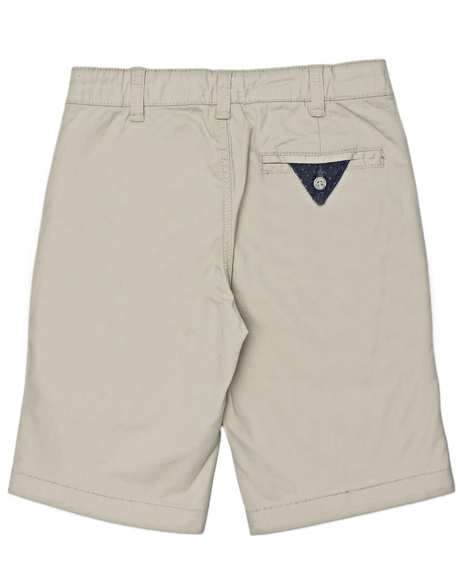 Boys Chino Shorts - Beige