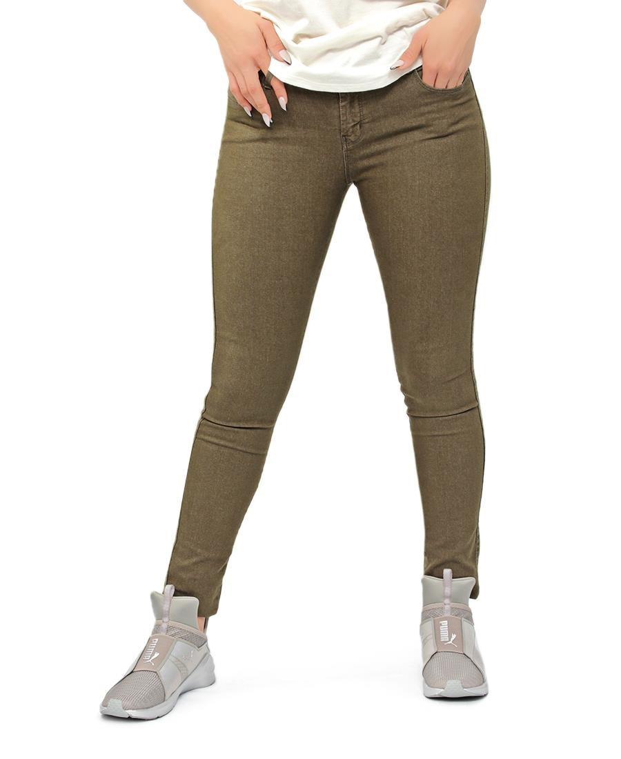 Slim Fit Jeans - Olive