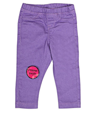 Girls Pants - Purple