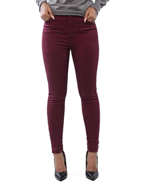 Stretch Pants - Maroon