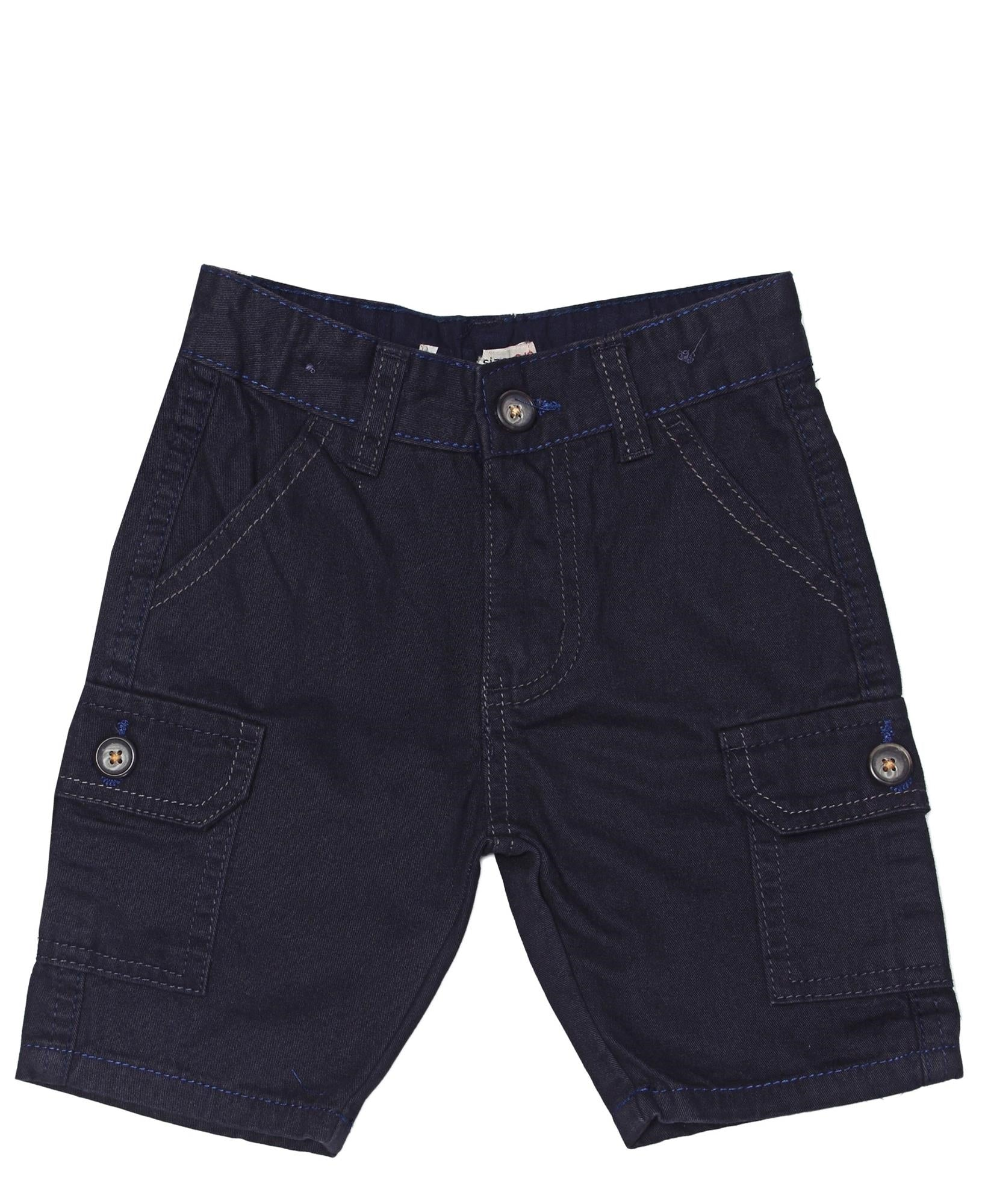 Boys Cargo Shorts - Navy