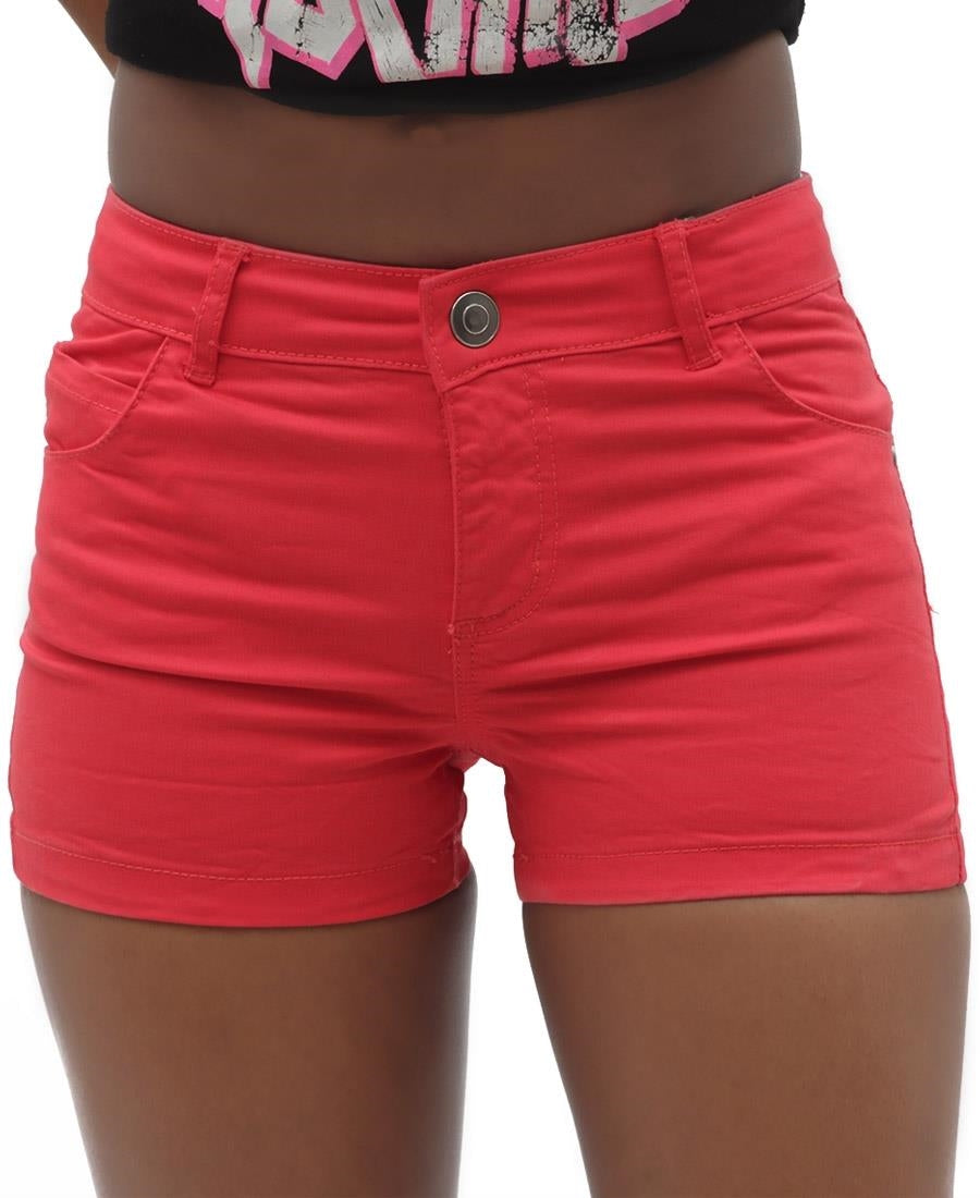 Girls Shorts - Red