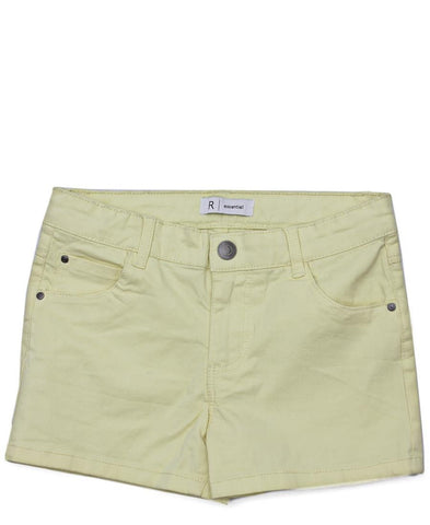Girls Shorts - Yellow