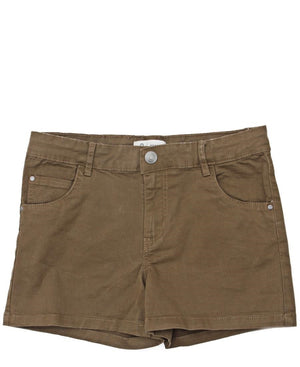 Girls Shorts - Khaki