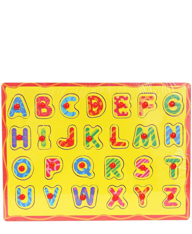Alphabet Board - Yellow
