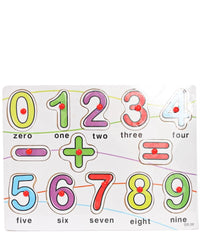 Alphabet Board Numbers (Large) - Multi
