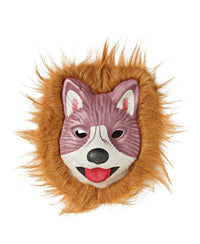 Animal Mask With Fur - Mink