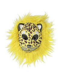 Animal Mask With Fur - Yellow