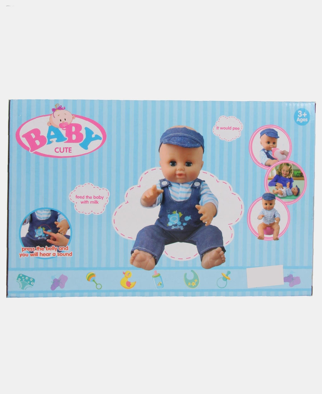 4 Piece Baby Set - Blue