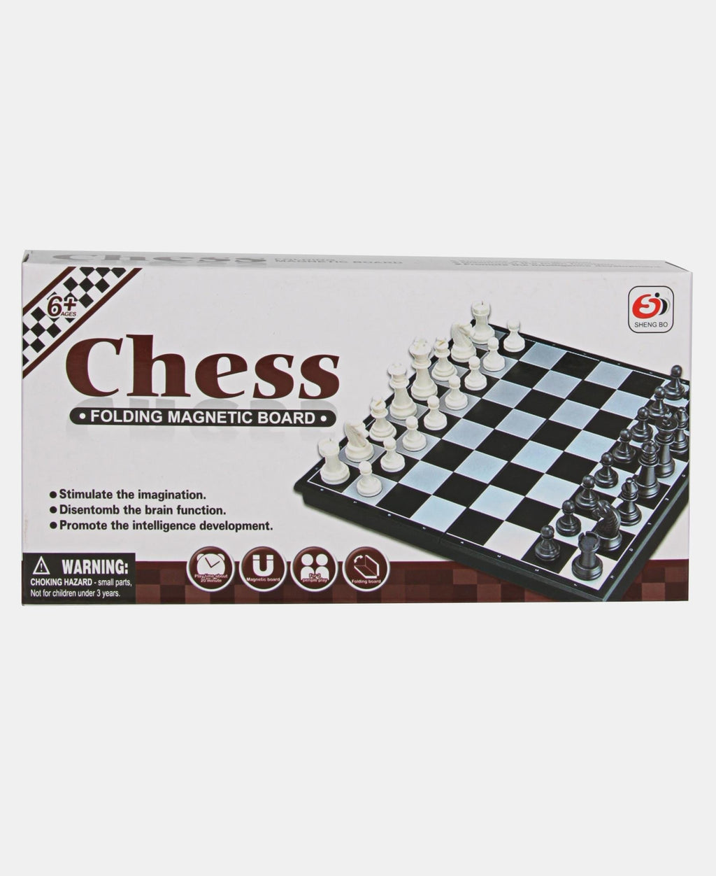 Chess Game Set - Choc