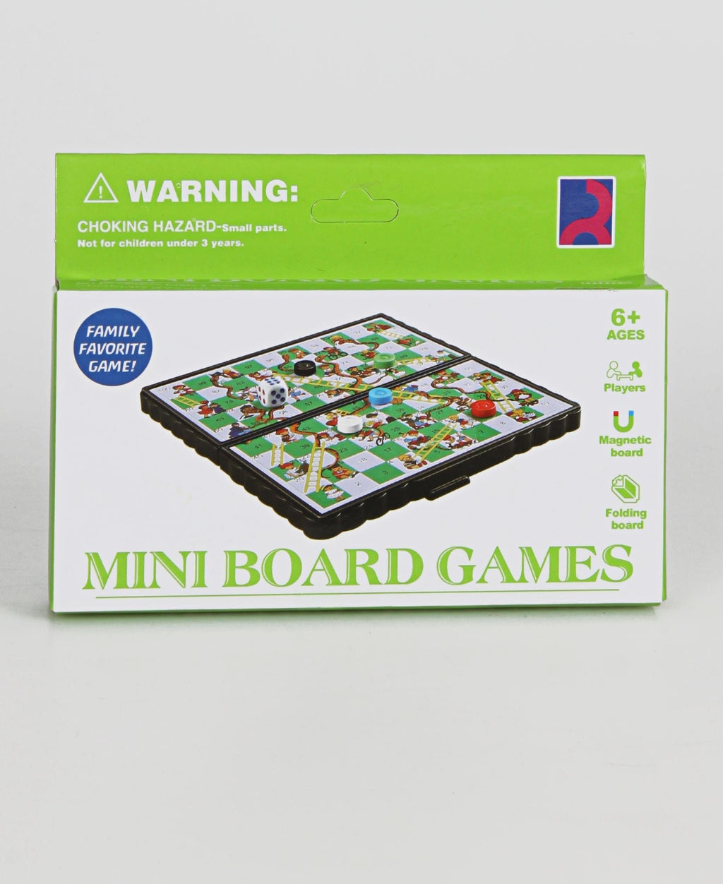 Mini Snake And Ladder Game  - Green