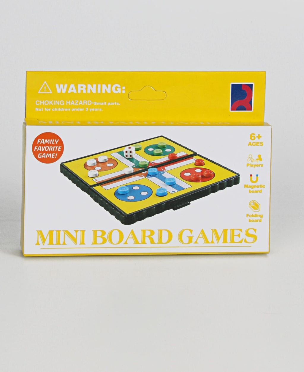 Mini Ludo Game - Yellow