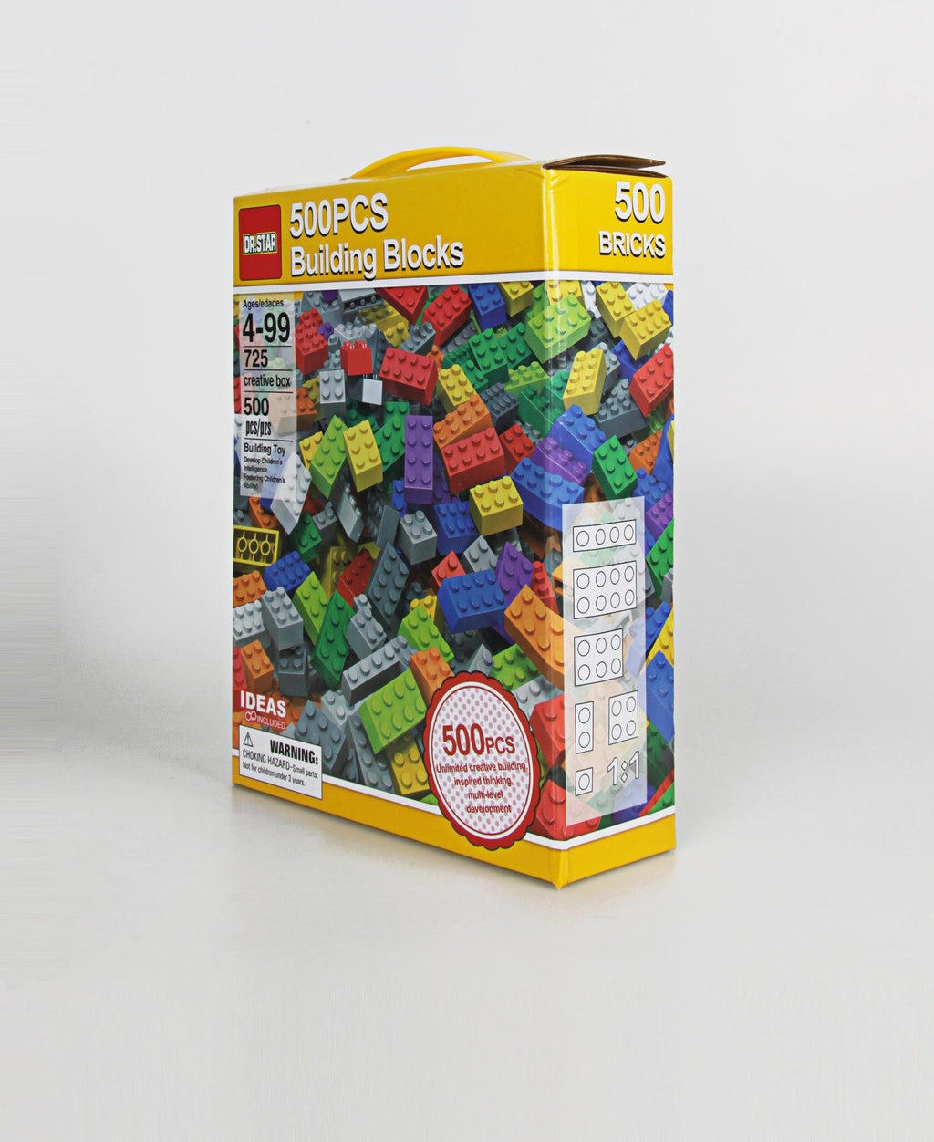 500 Piece Building Blocks - Multi