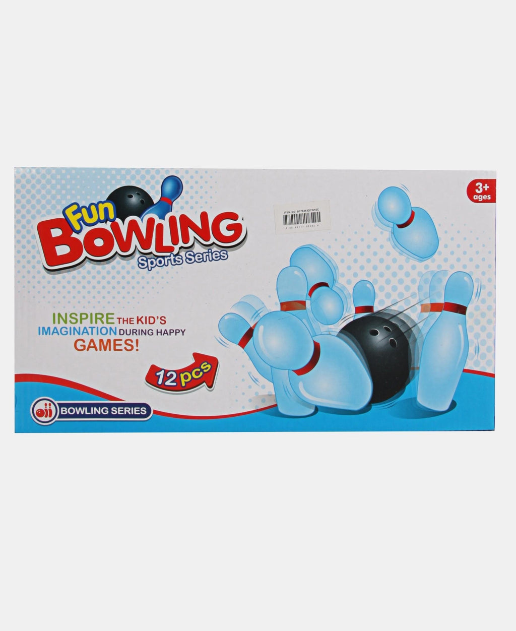 12 Piece Bowling Set - Multi