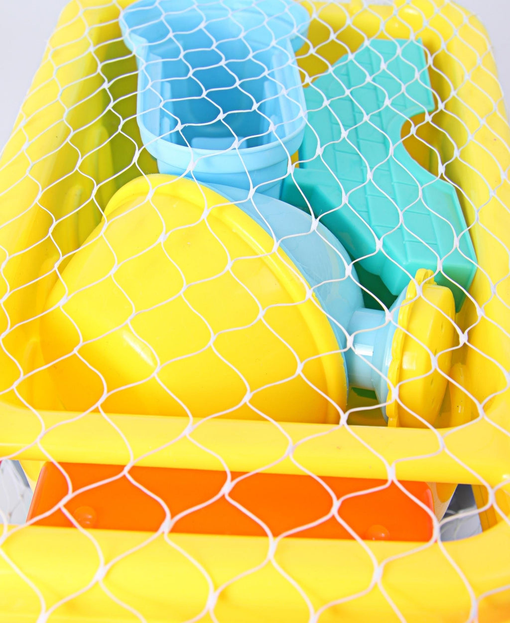 6 Piece Truck Beach Set - Yellow