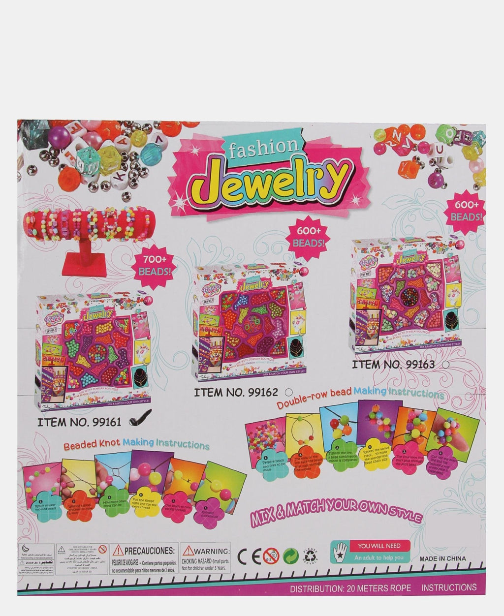 18 Types Beads Set - Multi