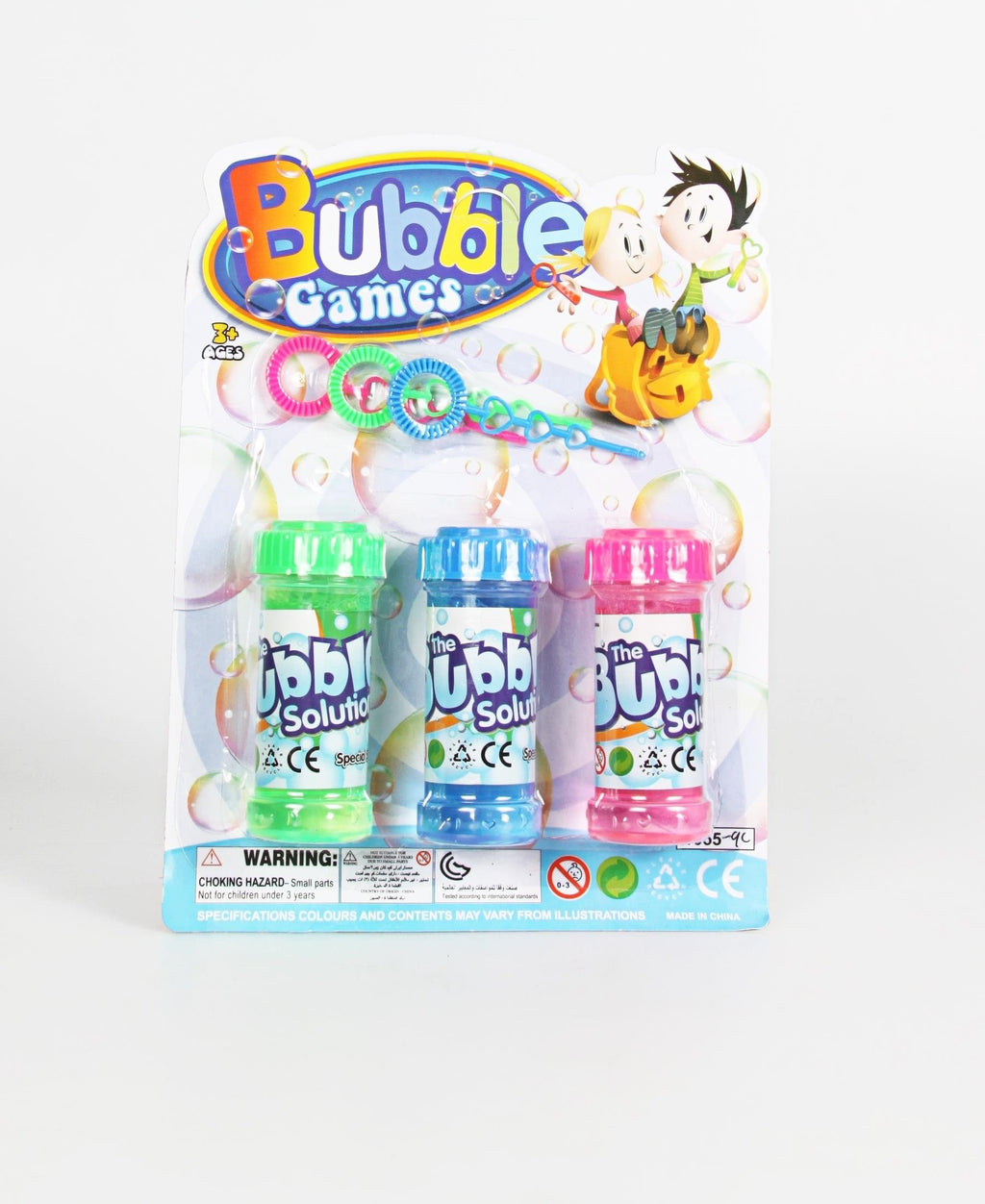 6 Piece Bubbles - Multi
