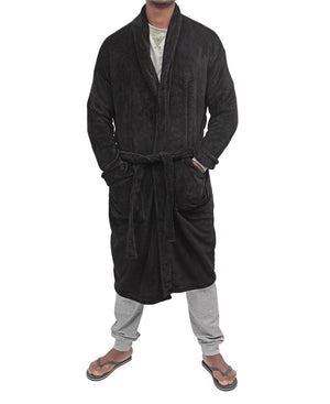 Men's Bathrobe - Black
