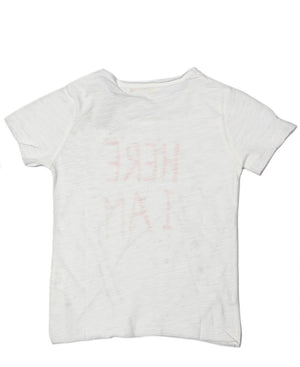 Girls Tee - White