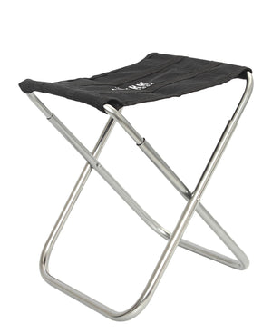 Mini Foldable Camping Stool - Black