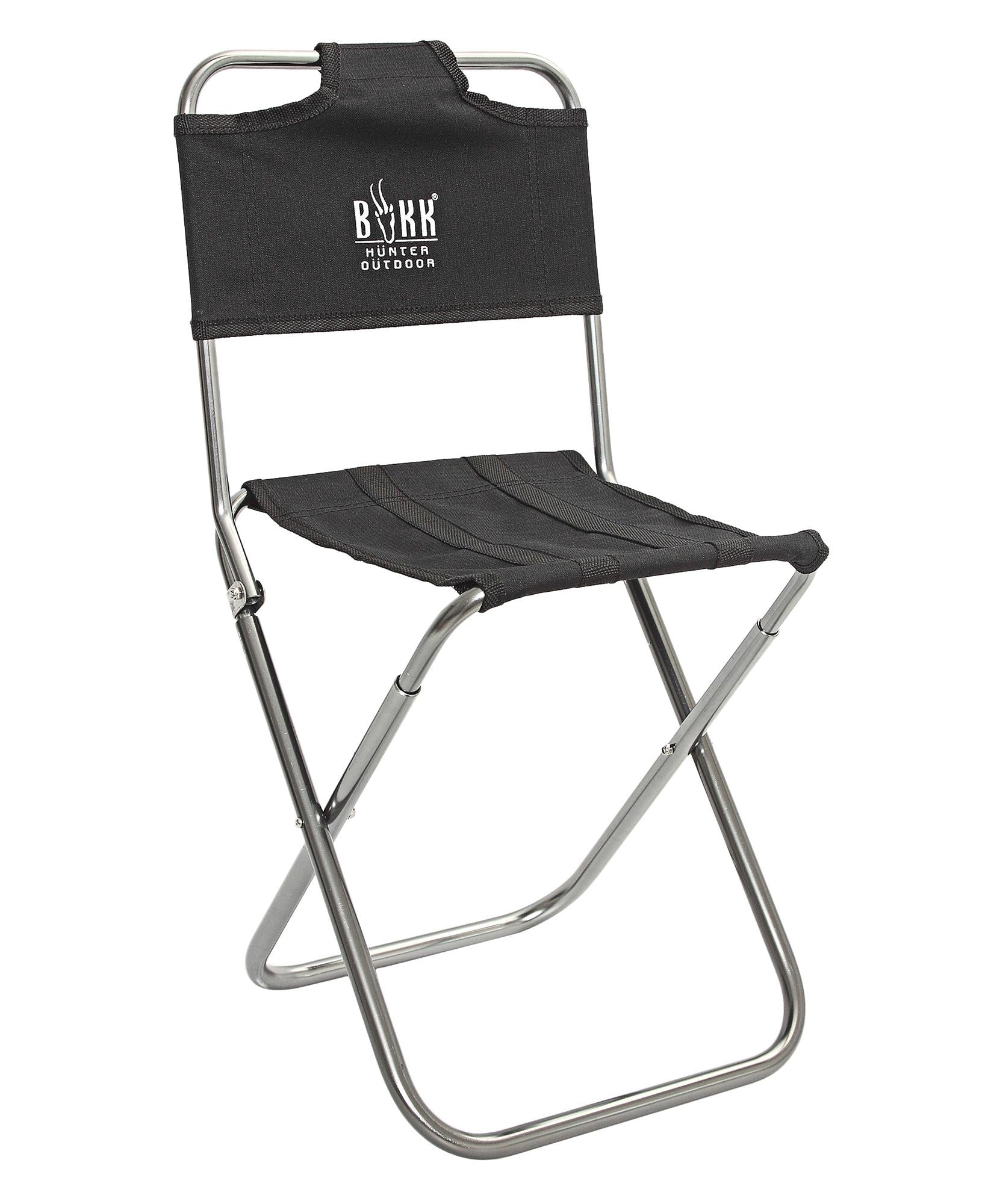 Mini Foldable Camping Chair - Black