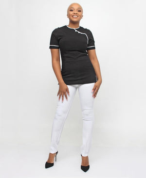 Nurses Tunic - Black