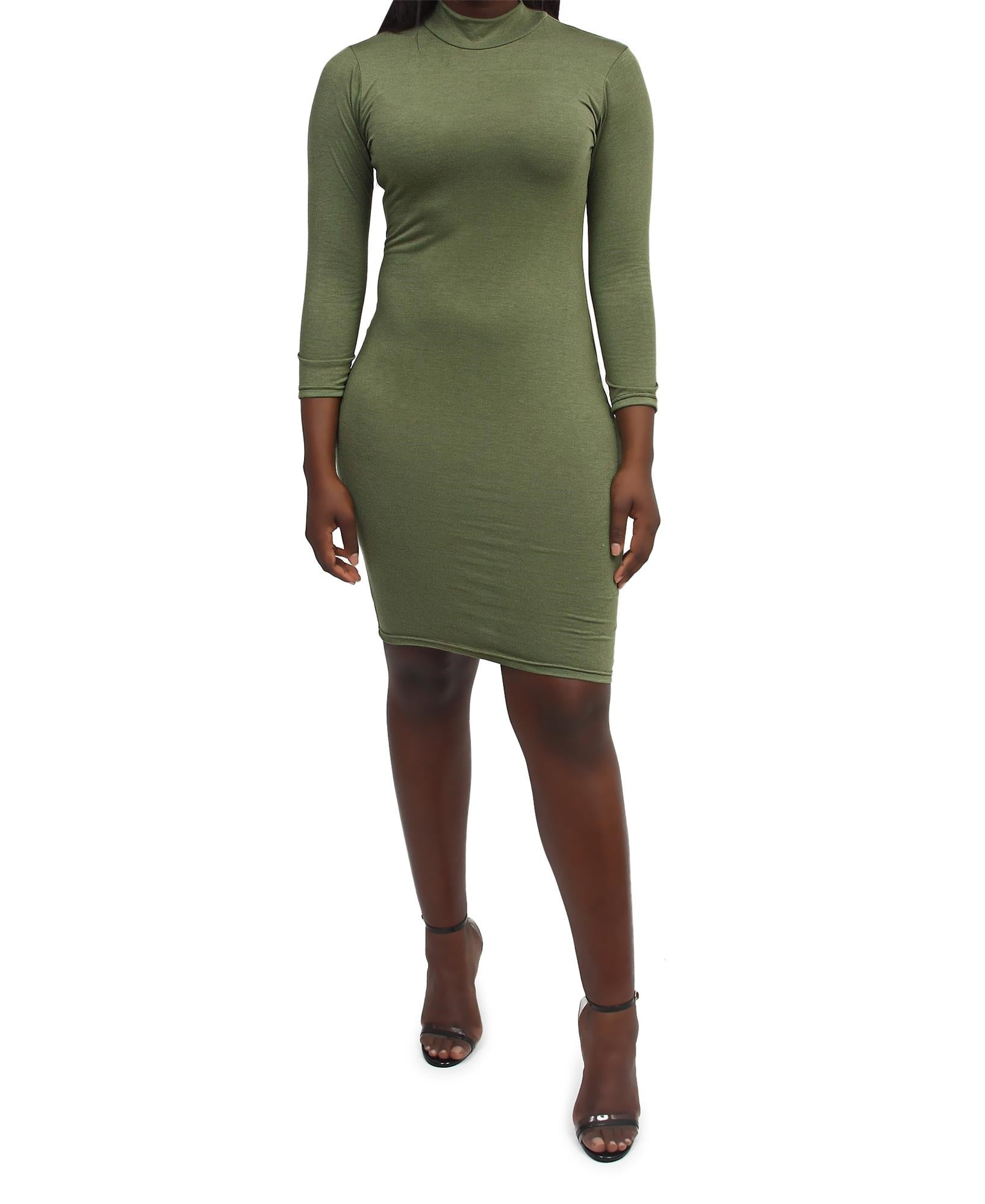 Bodycon Dress - Green